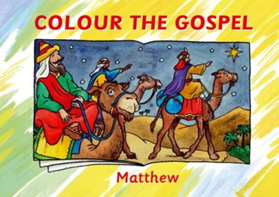 Colour the Gospel: Matthew  -     By: Carine MacKenzie