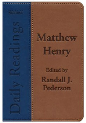 Matthew Henry's Daily Readings  -