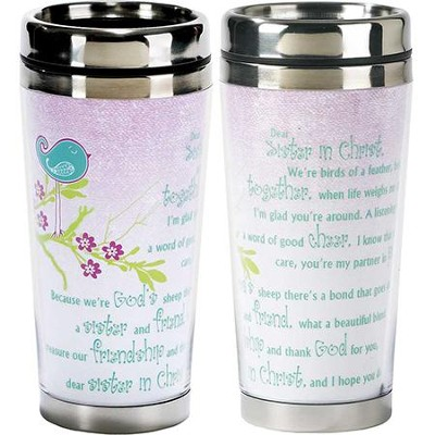 Sisters In Christ Travel Mug  -