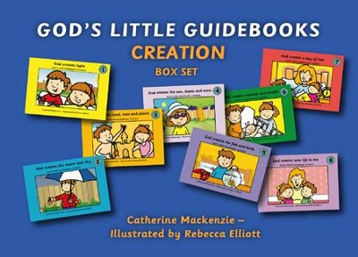 God's Little Guidebooks Creation, 8 Books Box Set  -     By: Catherine Mackenzie