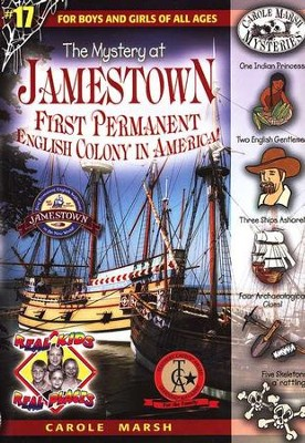 The Mystery at Jamestown                                     -     By: Carole Marsh