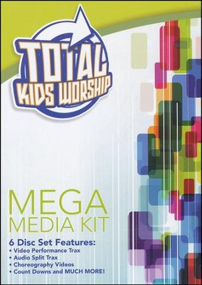 Total Kids Worship Mega Media Pack   -