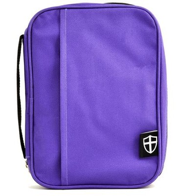 Armor of God Bible Cover, Violet, Large  -