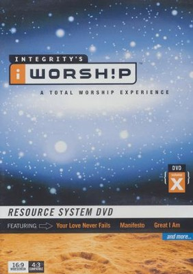 iWorship Resource System DVD X   -