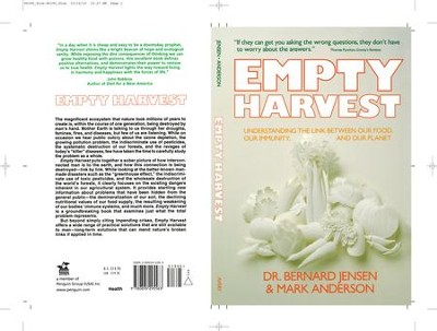 Empty Harvest - eBook  -     By: Bernard Jensen