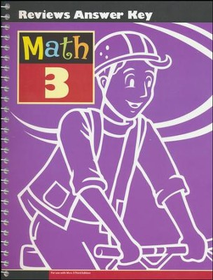 Math Grade 3 Reviews Key (3rd Edition)   -
