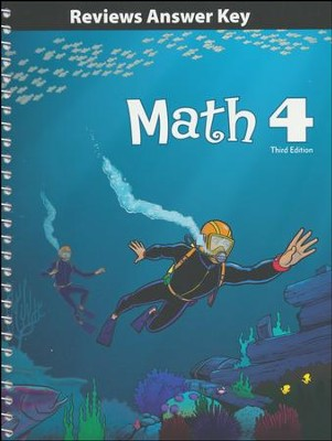 Math Grade 4 Reviews Key (3rd Edition)   -