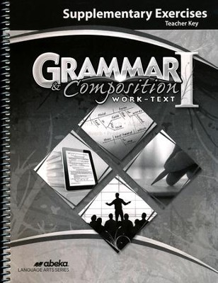 Abeka Grammar/Composition 1 Supplemental Exercises Key   -