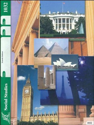 4th Edition Social Studies PACE 1032 Grade 3  -
