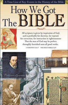 How We Got the Bible Pamphlet                                                         -