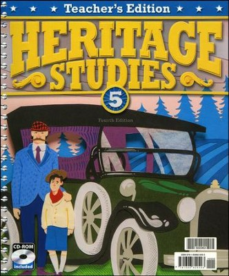 BJU Heritage Studies Grade 5 Teacher's Edition with CD-ROM  Fourth Edition  -
