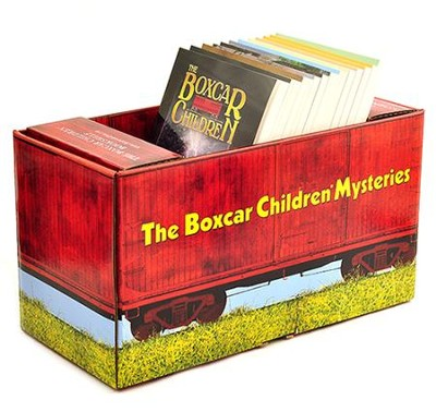 The Boxcar Children Mysteries, Volumes 1-12 - in Boxcar  Bookcase  -     By: Gertrude Chandler Warner