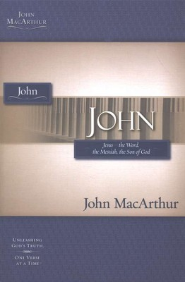 John, John MacArthur Study Guides  - Slightly Imperfect  -