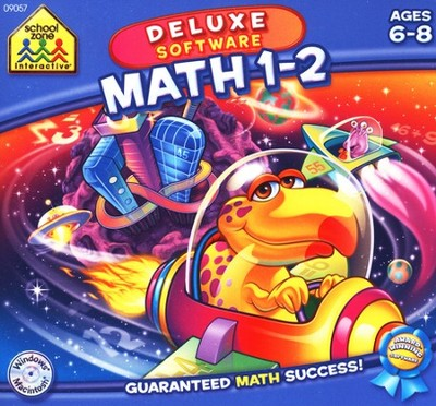 Mighty Mini Software: Math 1-2 Deluxe Edition CD-Rom  -