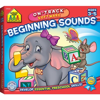 Beginning Sounds On-Track Software CD-Rom  -