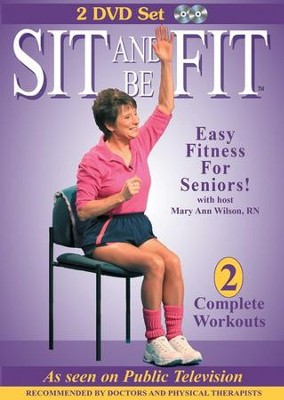 Sit and Be Fit (2 DVD Set)   -