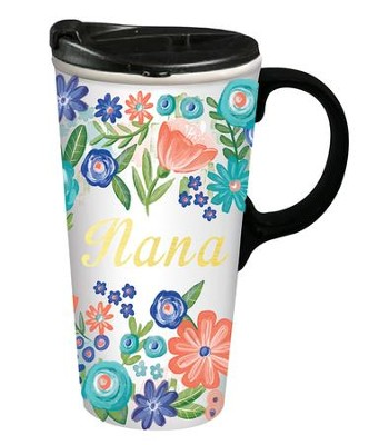 Nana, Ceramic Travel Mug  -