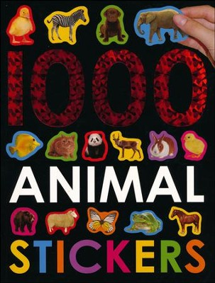 1000 Animal Stickers  -     By: Roger Priddy