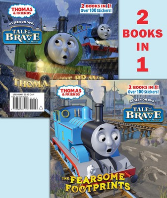 Thomas and the Fearsome Footprints/Thomas the Brave (Thomas & Friends) - eBook  -     By: Random House & Tommy Stubbs (Illustrator)     Illustrated By: Tommy Stubbs
