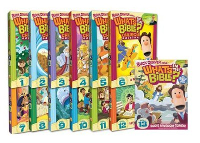 What's in the Bible? 13 DVD Pack   -