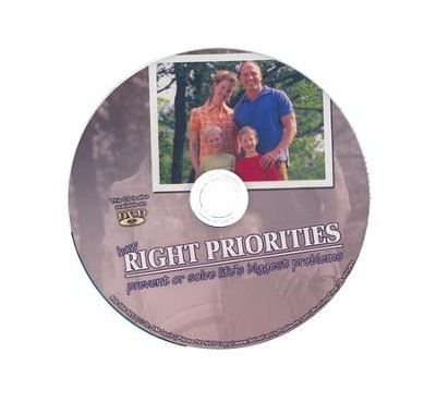 How Right Priorities Prevent or Solve Lifes Problems Audio CD  -     By: Dr. S.M. Davis