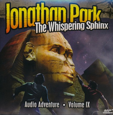 Jonathan Park #9: The Whipering Sphinx--MP3 CDs   -     By: Pat Roy