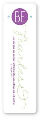 Be Fearless Bookmark  -
