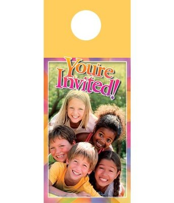 Kids Pyramid Door Hanger, Pack of 150  -