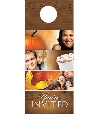 Fall Is Here Door Hanger, Pack of 150  -