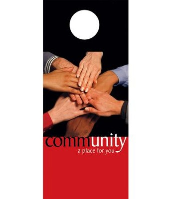 Community Door Hanger, Pack of 150  -