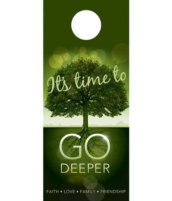 Go Deeper Time Door Hanger, Pack of 150  -