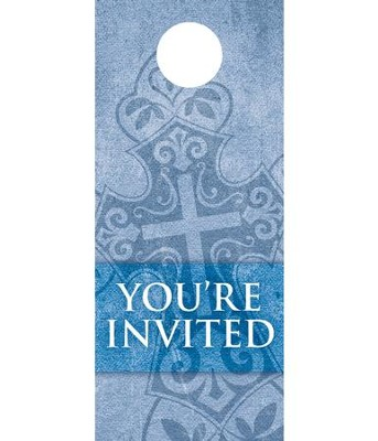 Cross Welcome Door Hanger, Pack of 150  -