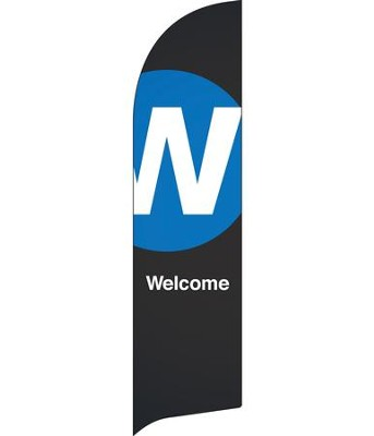 Metro Welcome Flag Banner  -