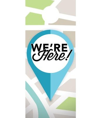 We Are Here Door Hanger, Pack of 150  -