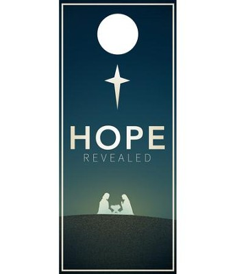 Hope Revealed Door Hanger, Pack of 150  -