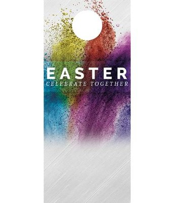 Easter Powder Paint Door Hanger, Pack of 150  -