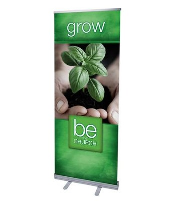 Be the Church Grow (31 inch x 79 inch) RollUp Banner  -