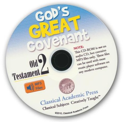 God's Great Covenant Old Testament 2 CD-ROM of Audio Recordings  -     By: Christopher Perrin