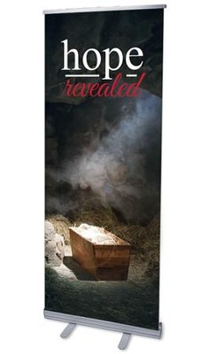 Hope Revealed Manger (31 inch x 79 inch) RollUp Banner  -