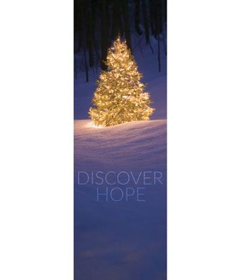 Discover Hope Bright Tree (2' x 6') Vinyl Banner  -
