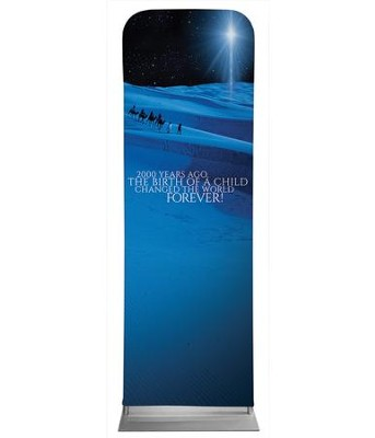 2000 Years Ago 2' x 6' Fabric Sleeve Banner  -