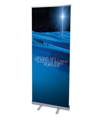 2000 Years Ago (31 inch x 79 inch) RollUp Banner  -