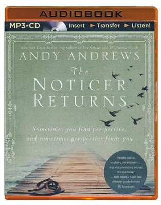 The Noticer Returns, Unabridged MP3-CD   -     Narrated By: Andy Andrews     By: Andy Andrews