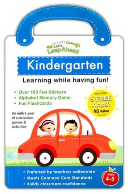 Let's Leap Ahead Kindergarten, Stickerbook   -
