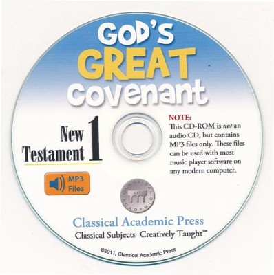 God's Great Covenant New Testament 1 CD-ROM of Audio Recordings  -     By: Christopher Perrin