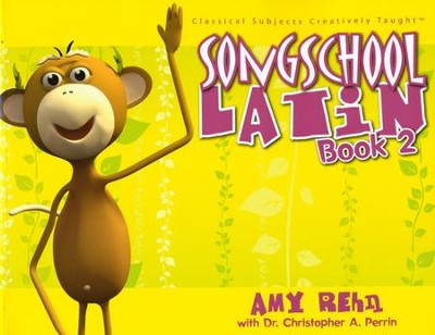 Song School Latin Level 2--Book and CD  - Slightly Imperfect  -     By: Amy Rehn