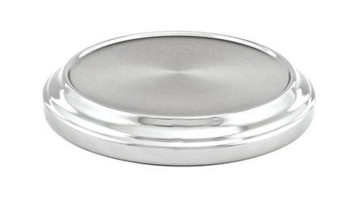 Chrome Stacking Bread Plate  -     By: Artistic Churchware