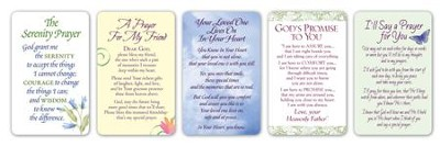 Prayer Cards, Set of 20  -