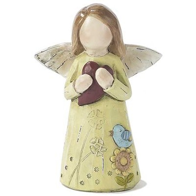 Angel, with Heart Figure  -