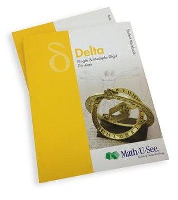 Math-U-See Delta Student Pack (for an Additional  Student)  -